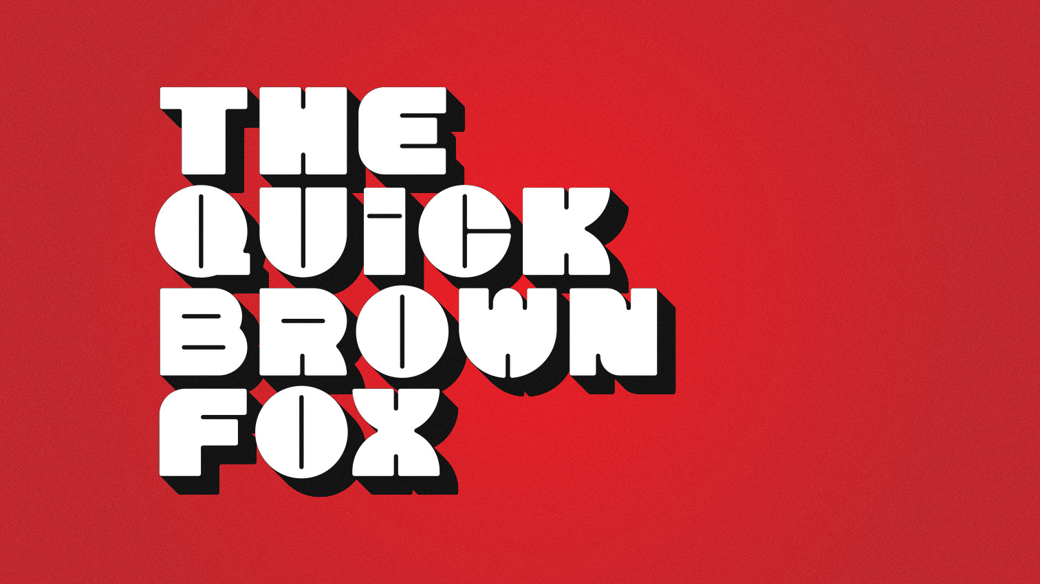 Chonky font